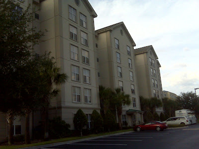 My hotel/apartment.......it had a full kitchen and separate bedroom