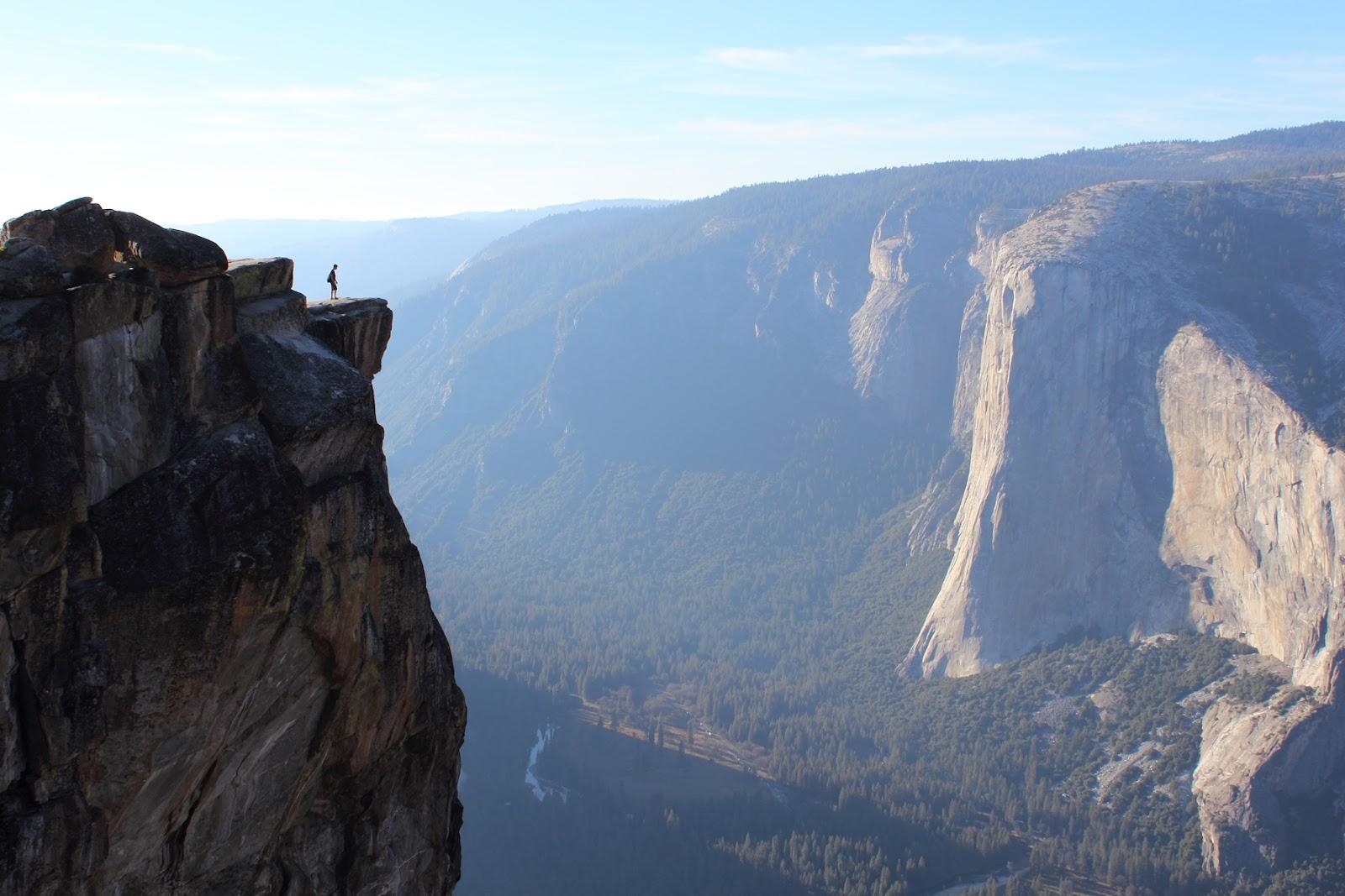 El Capitan as seen from Taft Point
