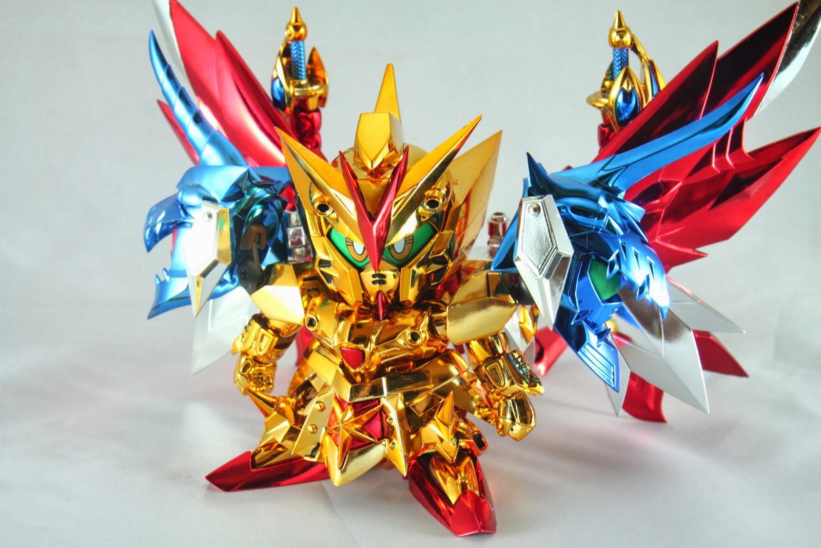 跟守護獸結合 整隻金光閃閃