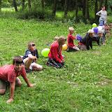 Pozdní odpoledne v táboře - hra Hlavonožci (1)