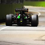 Nico Hulkenberg (GER) Sahara Force India F1 VJM07 back