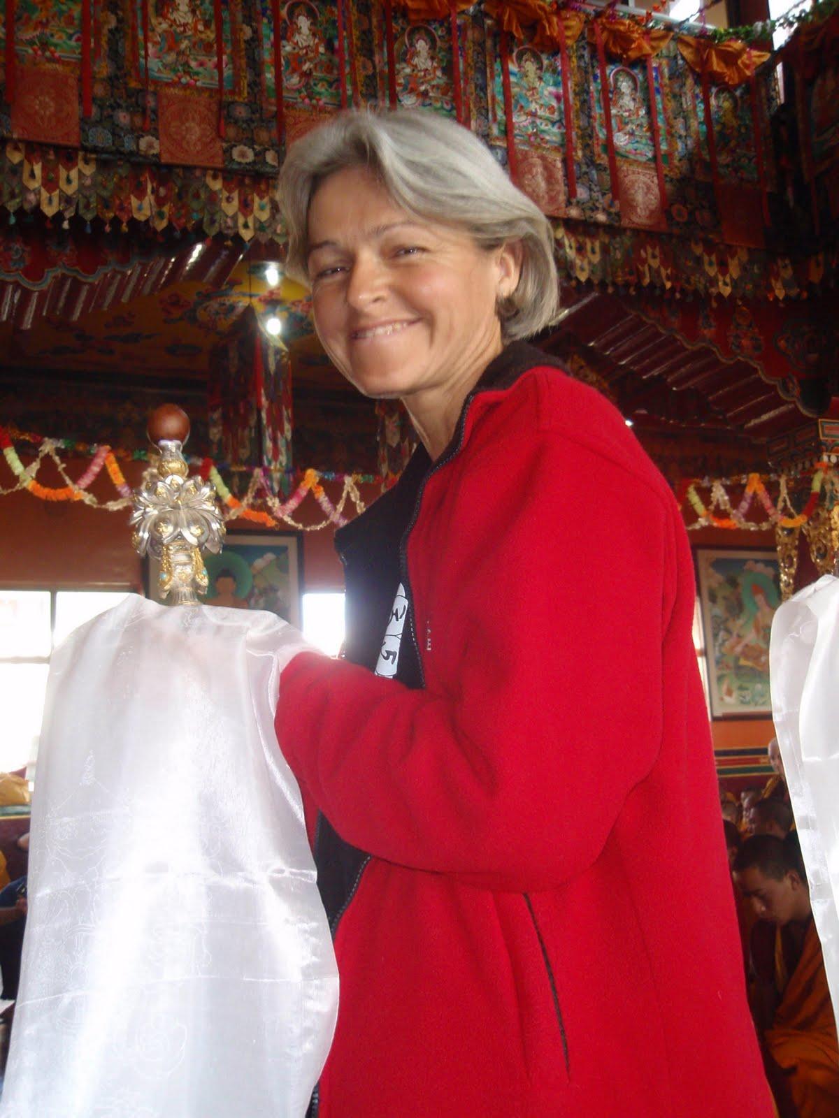 Long life puja Kopan Monastery 2008.
