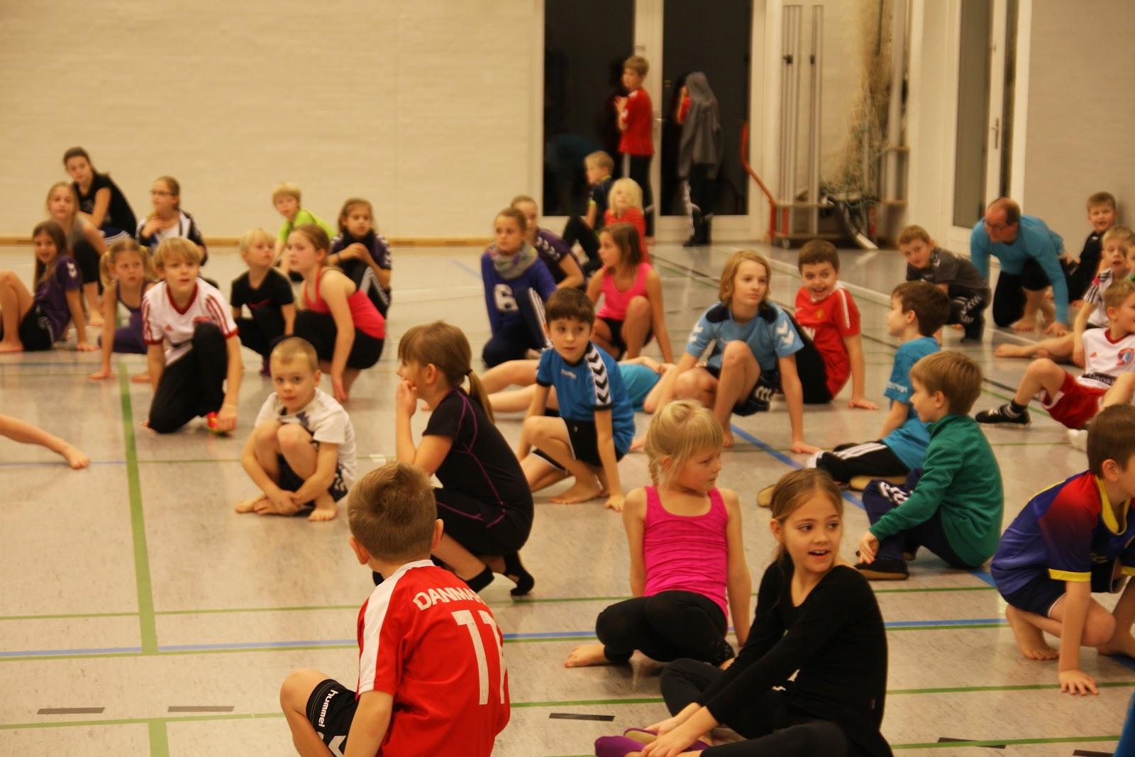 Gymnastikovernatning - januar 2015
