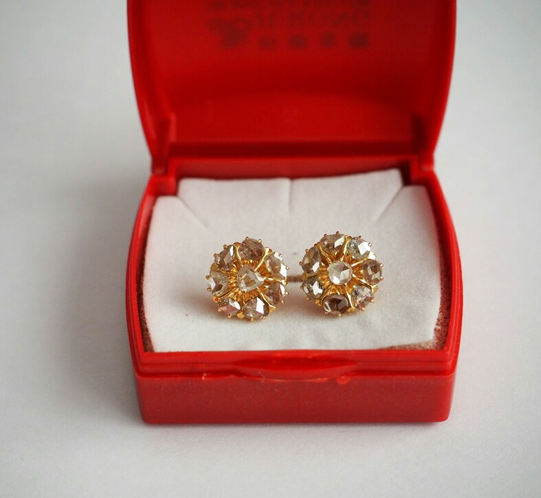 Precious Stone Earrings