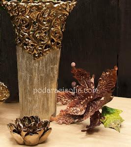 Аксесоари за декорация на дома в златно