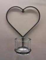 hart  met glas klein