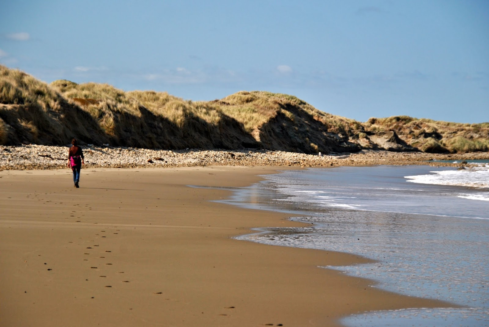 Tenminste, het strand was prachtig...