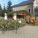 Adventi koszorú Borsiban