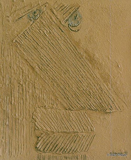 030 - Hommage à Van Gogh - 1993 55 x 46 - Acrylique sur toile