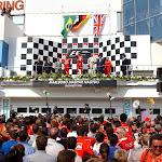 2001 Hungary F1 GP podium ceremony