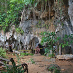 Cave museum of Taíno people of Cuba, now extinct