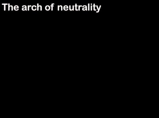 Antonio Gagliano: El arco de la neutralidad.