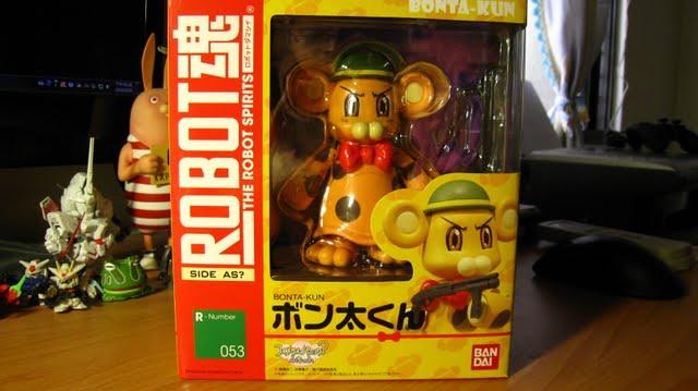 ROBOT魂早期盒子跟現在一樣