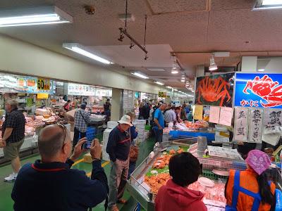 Kushiro fish market