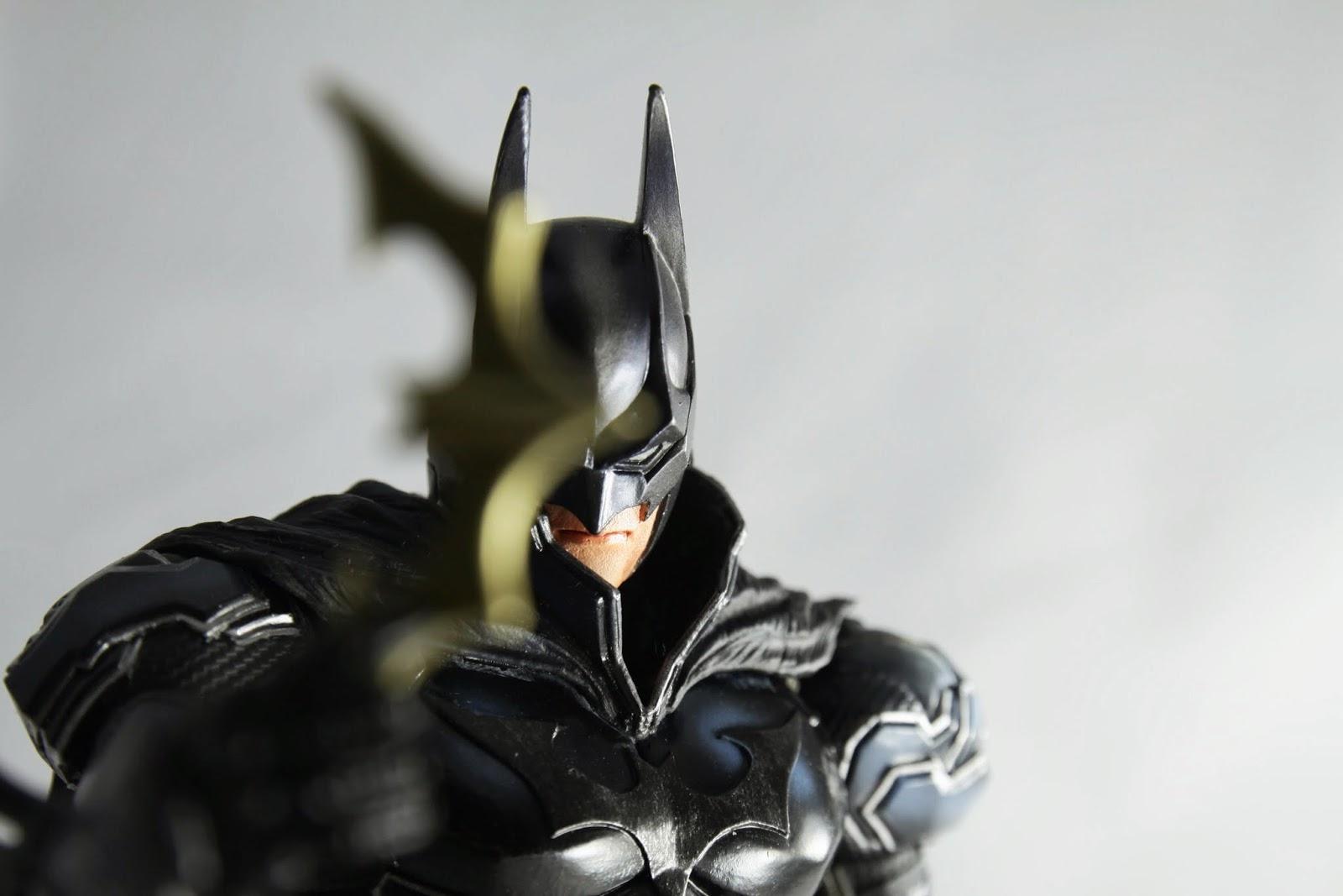 來個蝙蝠俠招牌動作