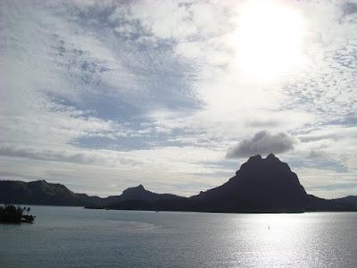 Entering the Bora Bora Harbour