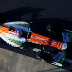 Force India VJM05 Mercedes top