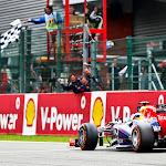 Sebastian Vettel, Red Bull RB9, Wins at Spa for the 2nd time