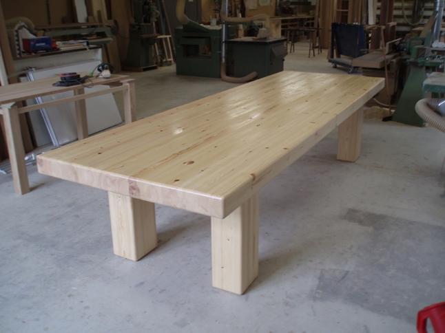 Stamtafel, massief hout