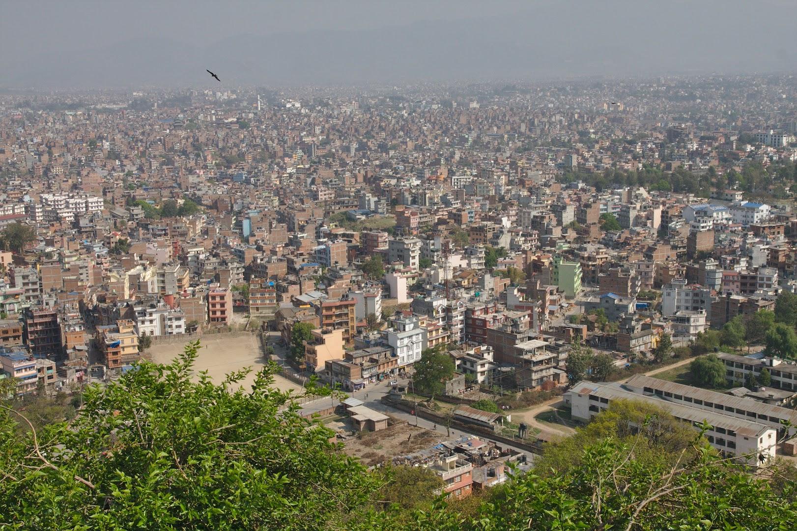 Kathmandu from Swayambhunath