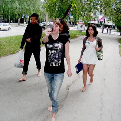 На фото (слева направо): Валерий, Дарья Линдеманн и Катерина Фомель.