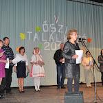 Szarka Katalin, a Csemadok Palásti Alapszervezetének elnöke üdvözli a vendégeket