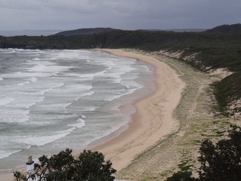Lighthouse beach, Seal Rocks