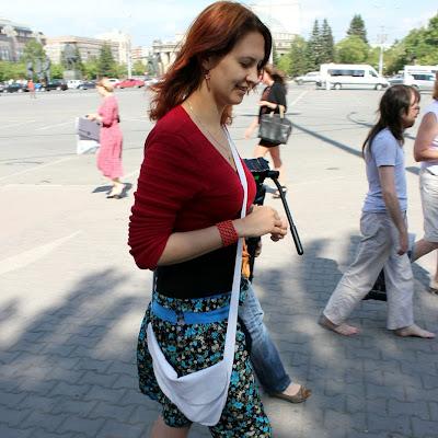 Кристина Иванова даже на работу, в магазин, летом ездит исключительно босая.