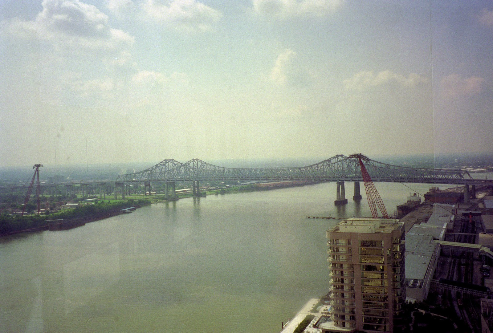Over the Mississippi