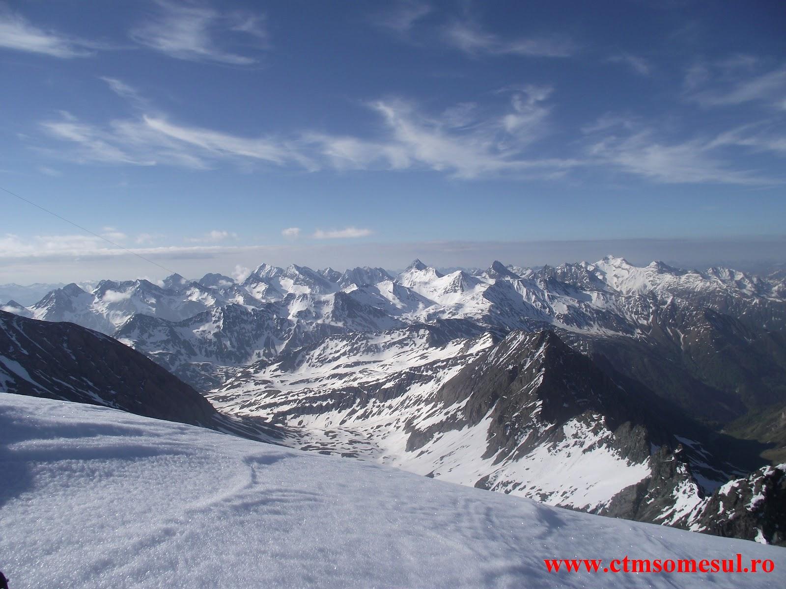 Vârful Kleinglockner 3770 m