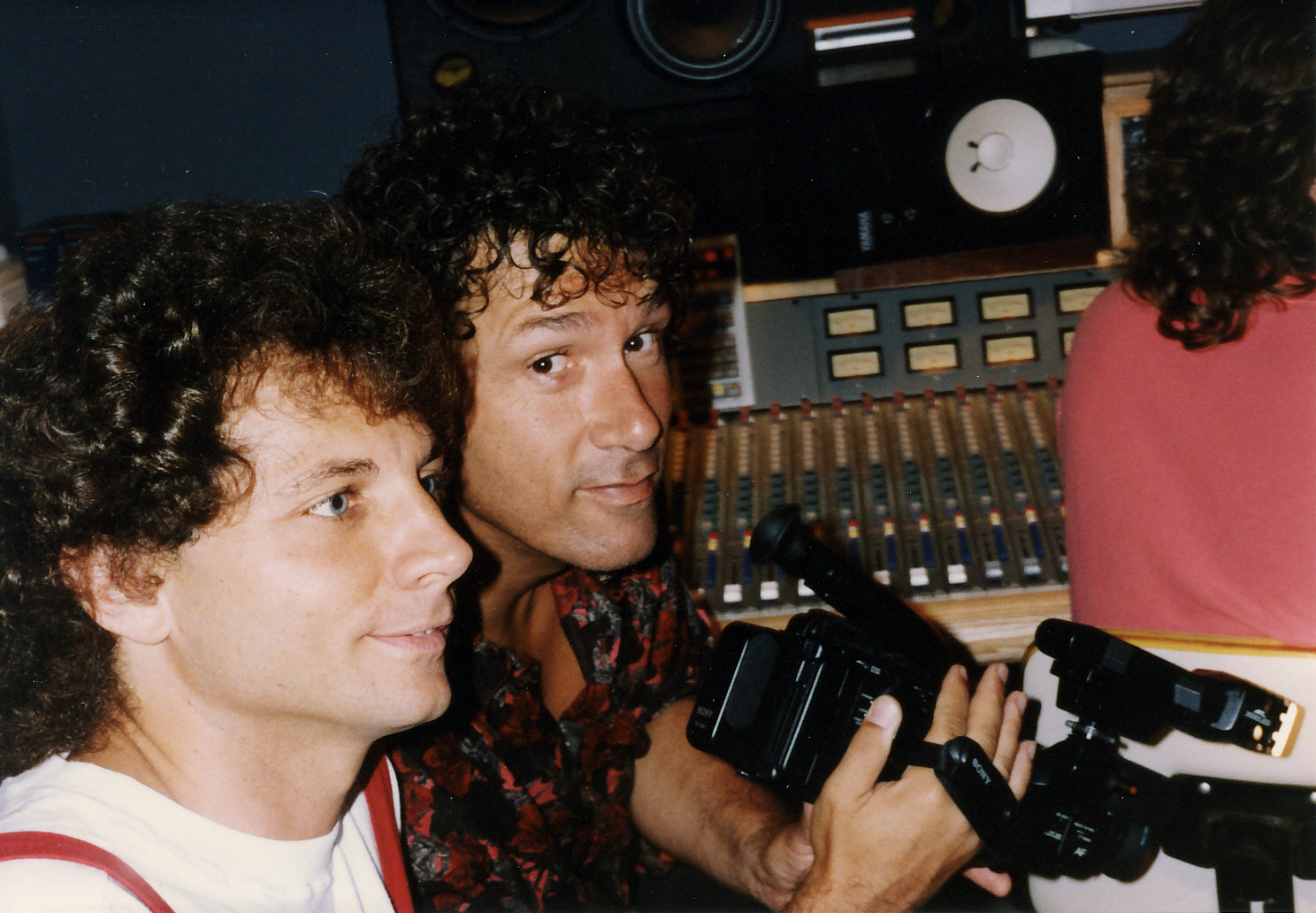 Jimmy Stowe with Mike Panera (from Blues Image)