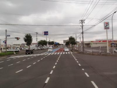 The roads in Kushiro