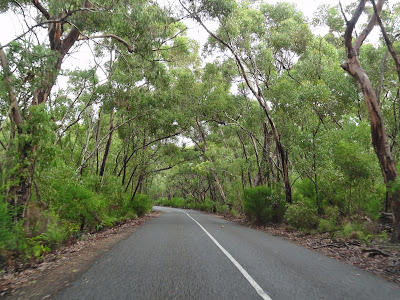 On the way to Flinders Chase National Park