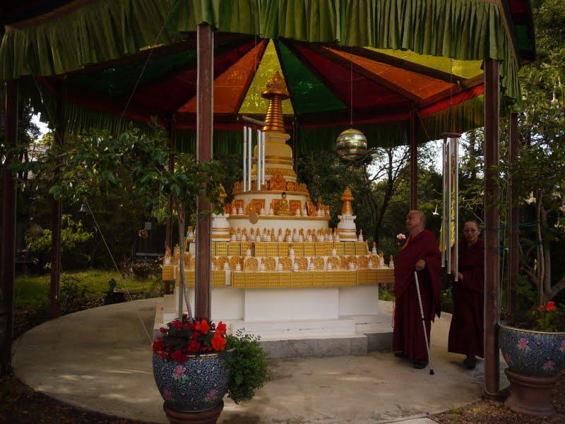 Rinpoche doing circumambulation