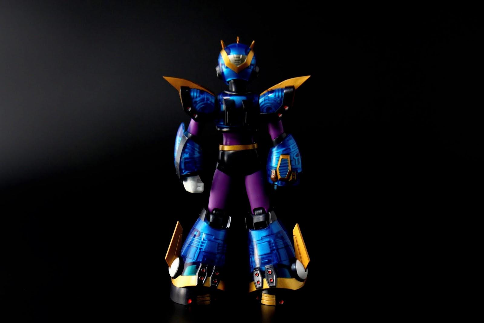 身體是紫色的設定來自於初登場的X4代