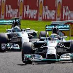 Hamilton still leads Rosberg for Mercedes