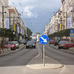 2014 rok - Kaszubski wystrój ulicy Świętojańskiej w Gdyni - Dni Abrahamowe