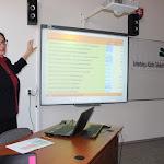 Elsőként Fabó Mária, az SZMPSZ szakmai tanácsadója mutatta be a szakiskolák országos hálózatát