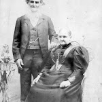 Edward Elliot, sexton in 1862, with his wife Emily, Great Aunt to Gwen Greenough