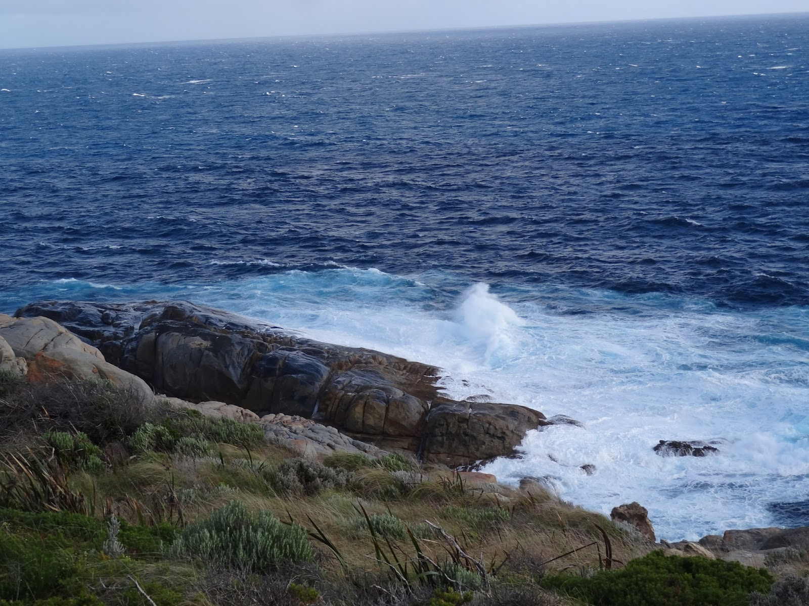 The Blow Holes, Frenchmans Cove (no blow holes in action when we were there)