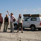 Desert rally team