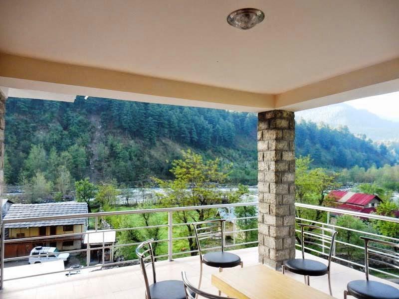 Hotel Sunrise Manali views from balcony