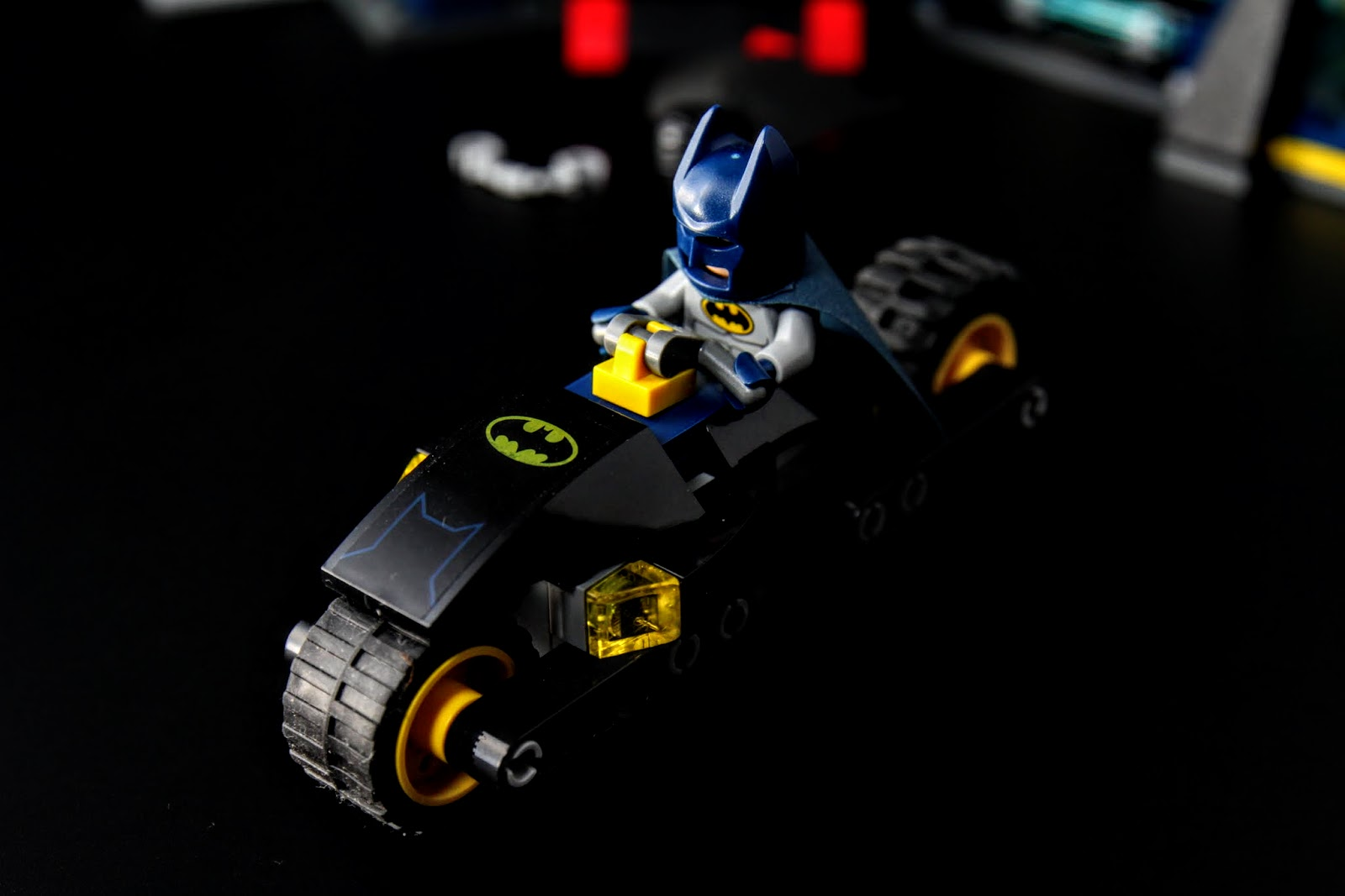 蝙蝠機車。非電影裡的造型
