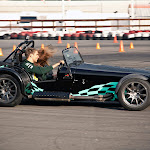 Vitaly Petrov playing with a Caterham