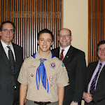 Eagle Scout Dinner 2014