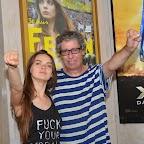 Oxana Shachko et Alain Margot (la protagoniste du documentaire et le réalisateur)
