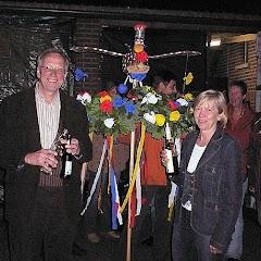 2007 Schützenfest: Vogel schmücken