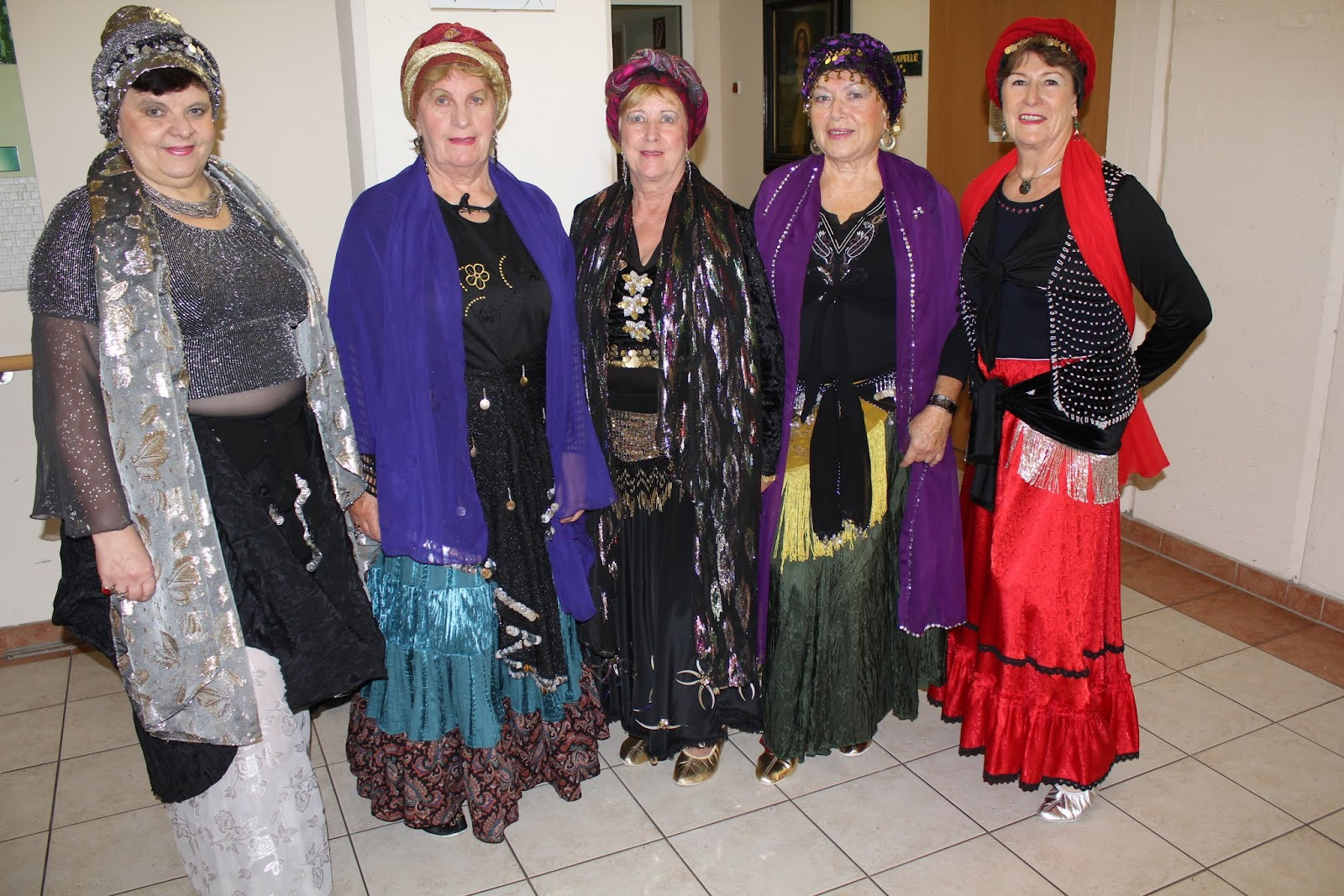 Ritterfest im Altersheim 2015