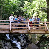 Záře, Lvíčata, Pláňata a Šumperk na výletu k rašelinovému alias kofolovému jezeru Egelsee.