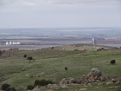 looking toward Mannum